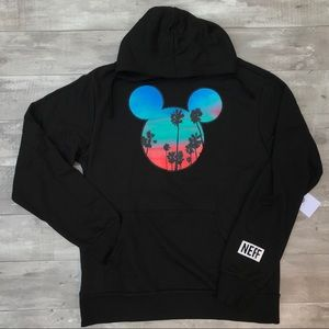 Disney by Neff Black Mickey Mouse Hoodie